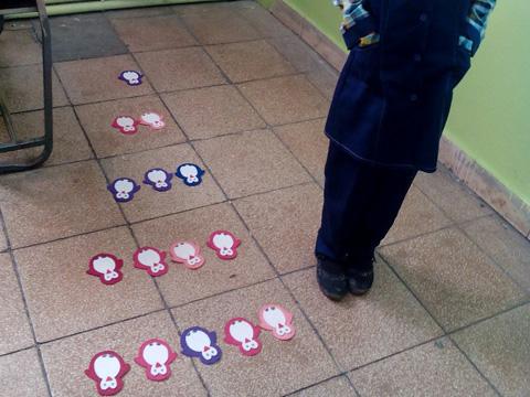 الگویابی در بازی کودکانه ( کلاس دوم 1)